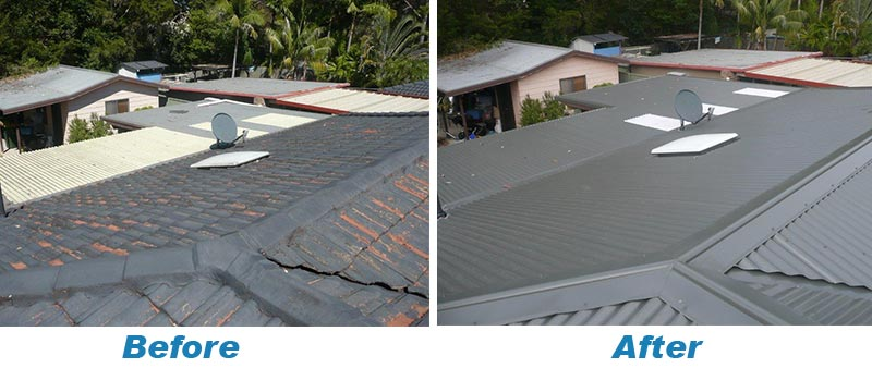 Colorbond Re Roofing Roofing Central Quality Roof